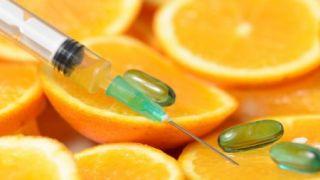 Vitamine C in hoge doseringen intraveneus toedienen (dit is een medische handeling!)